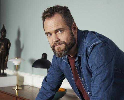 Skuespiller Esben Dalgaard