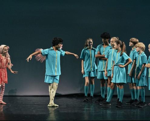 Scenen fra Dansefeber